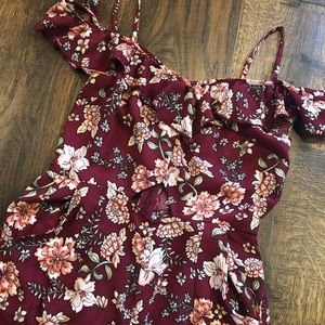 The perfect floral jumpsuit!